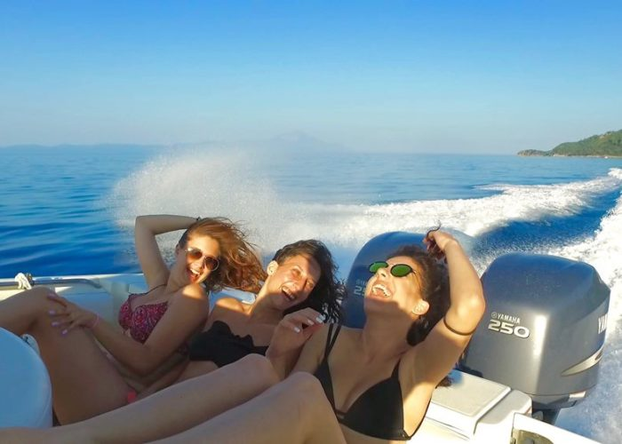 luxury sport cruise - Chalkidiki