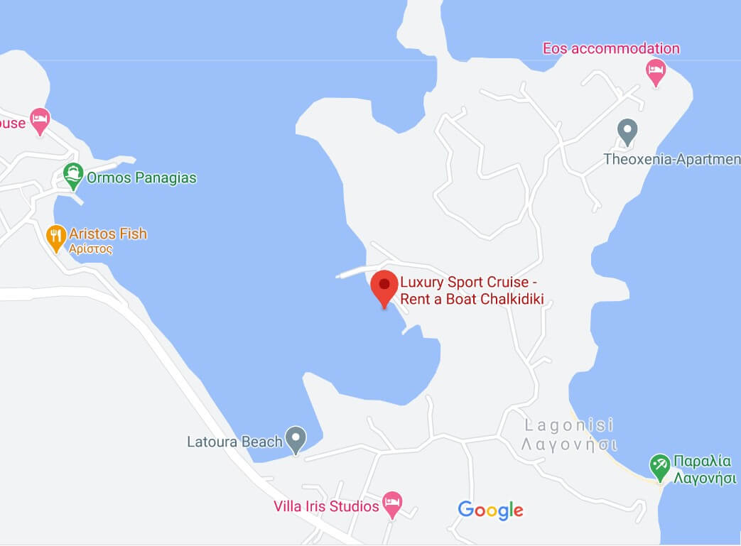 luxury sport cruise map